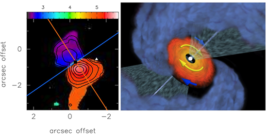 Youngest Protoplanetary Disk Discovered with ALMA