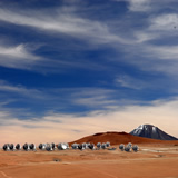 ALMA antennas on the Chajnantor plateau in Chile. (Picture Credit: C. Padilla, ALMA, ESO/NAOJ/NRAO)