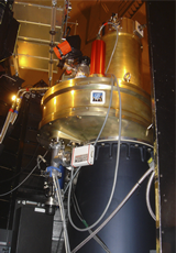 The WIRCam was completed and installed on the CFHT during 2005