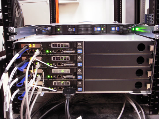 ASIAA Cluster for VLBI DiFX correlator.