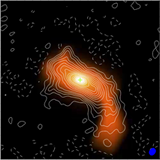 Infalling Flow toward a Keplerian Disk around the Protostar L1489 IRS