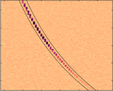 Very Large Array radio image of a single millisecond duration burst known as FRB 121102 (a,b).  This is the first localization of an FRB, conclusively showing an extragalactic origin. The dispersed pulse is shown in part c.