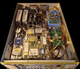 The main function of this GLT instrument (CAB-A11) is to down-convert the input 4-8GHz IF signal from the receiver to 50MHz and output to vector voltmeter for phase calculation with the reference 50MHz that derive from hydrogen maser. It has to cooperate with another GLT custom instrument: the Signal Test Source Reference Module (CAB-A1).