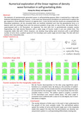 Numerical exploration of the linear regimes of density wave formation in self-gravitating disks