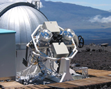 A 2-element prototype system was tested on the Mauna Loa site from 2002 to 2004.