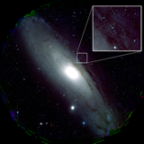 The first color image (M31) of HSC. (Picture Credit: National Astronomical Observatory of Japan)